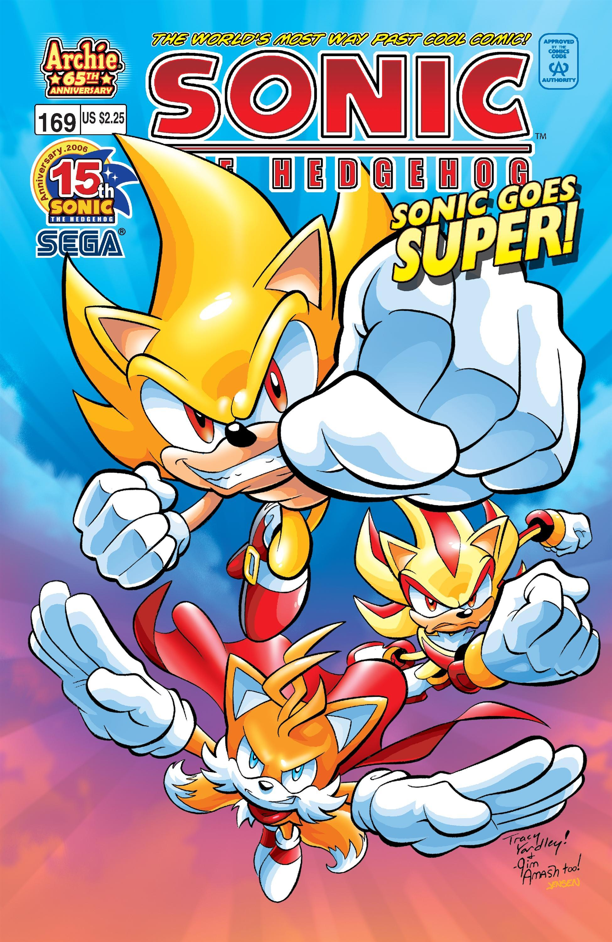 Archie Sonic the Hedgehog Issue 169