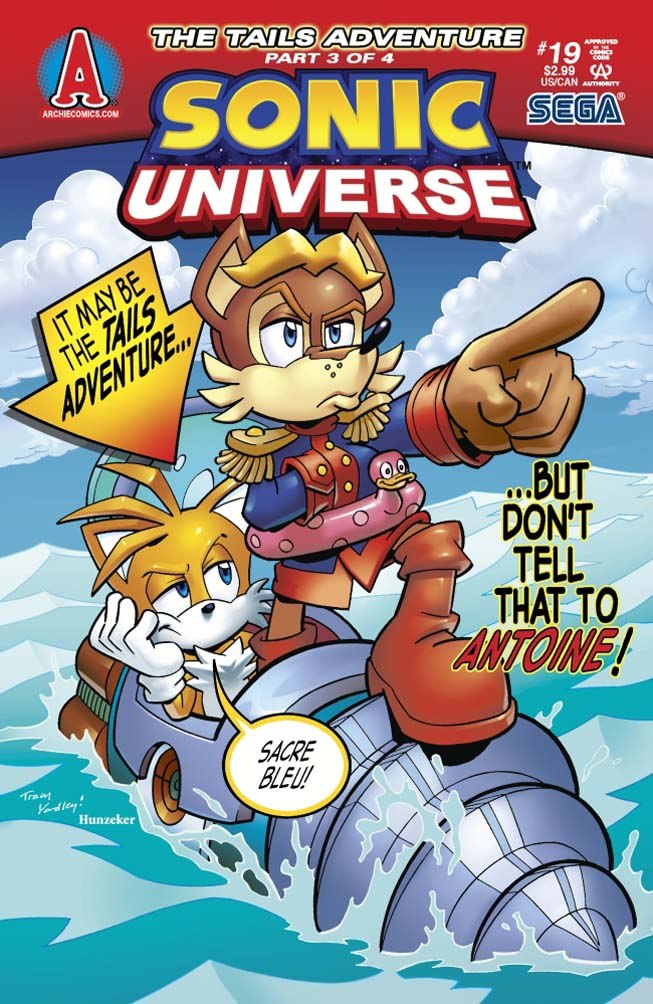 Archie Sonic Universe Issue 19
