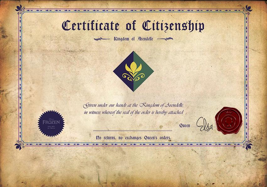 아렌델 시민권