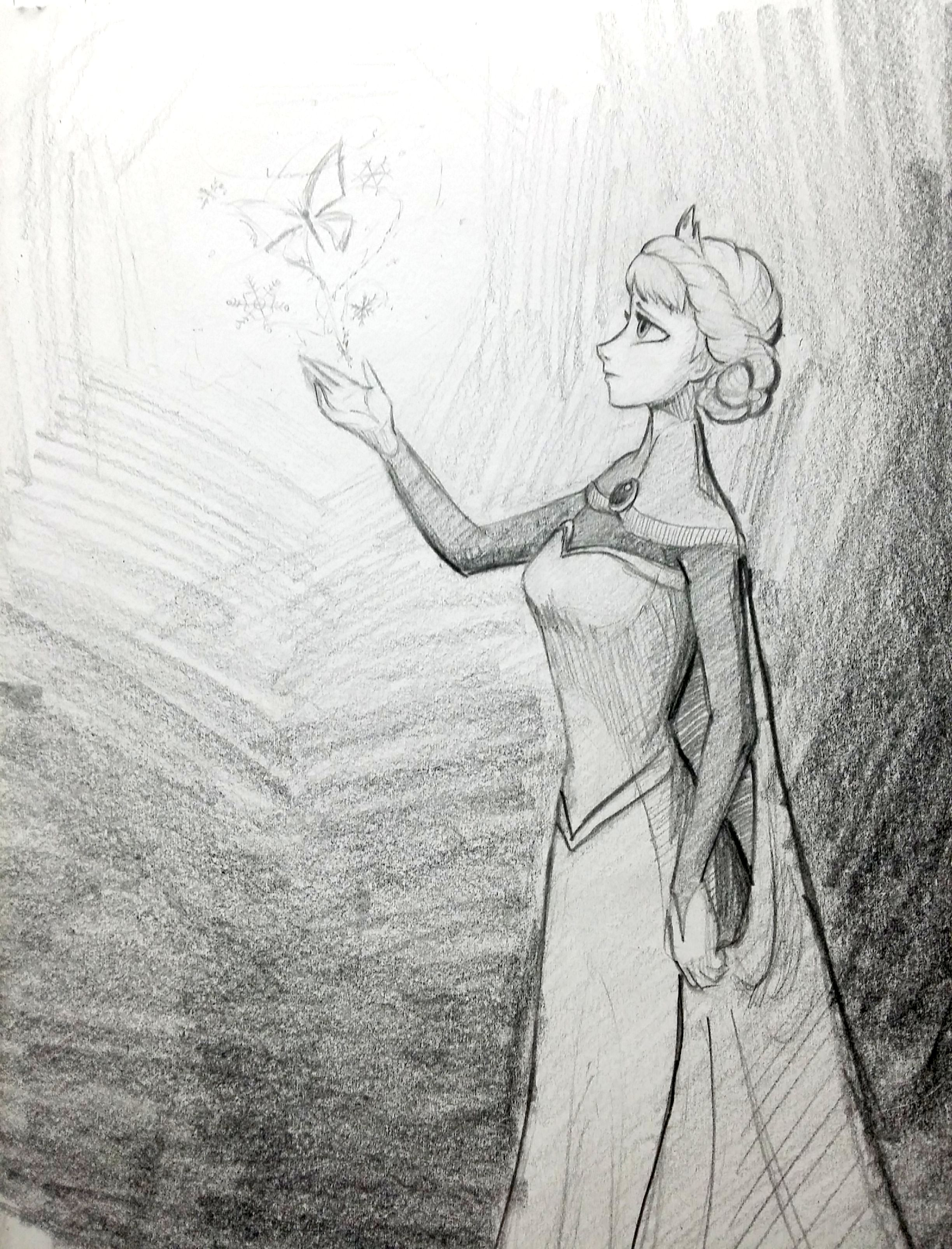 얼음 나비