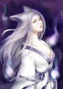 White fox spirit by shikirio-d4yl7k6