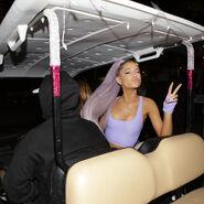 Ariana at Coachella 2018 backstage (1)