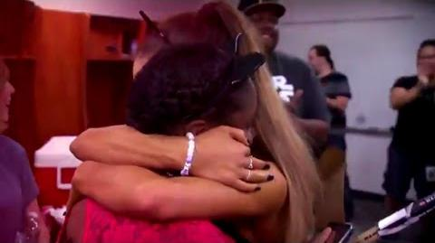 Ariana Grande surprises a fan on Knock Knock Live!