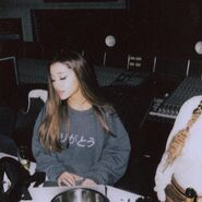 Ariana Grande at studio for Ag5