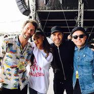 Ariana and Take That