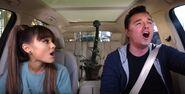 Ariana Grande and Seth Marcfalane Carpool Karaoke The Series (3)