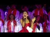 """Ariana Grande - """"All I Want For Christmas Is You"""" -Mariah Carey cover- (Live in L.A"""