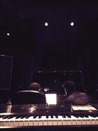 Ariana grande recording studio march 2014
