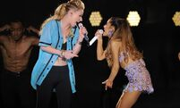 IHeartRadio Ultimate Pool Party - iggy & ariana perform