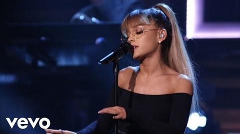 Ariana Grande Live On The Tonight Show Starring Jimmy Fallon
