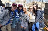 Ariana Grande at March For Our Lives in Washington DC with fans (5)