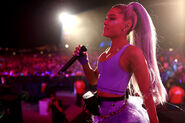 Ariana at Coachella 2018 performing No Tears Left To Cry (4)