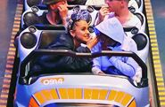 Ariana at Disneyland with friends in Anaheim, California April 8 2018 (6)