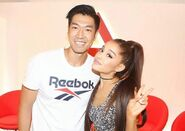 Ariana Grande Reebok Event with Fans (2)