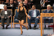Soul Music Icon Aretha Franklin Honored During Her Funeral By Musicians And Dignitaries(4)