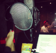 Ariana recording Yours Truly