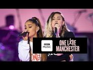 Miley Cyrus and Ariana Grande - Don't Dream It's Over (One Love Manchester)-2