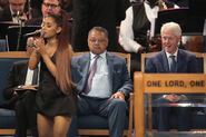 Soul Music Icon Aretha Franklin Honored During Her Funeral By Musicians And Dignitaries(1)