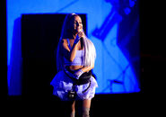 Ariana at Coachella 2018 performing No Tears Left To Cry (8)