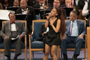 Soul Music Icon Aretha Franklin Honored During Her Funeral By Musicians And Dignitaries(7)