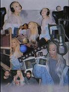 Ariana Grande Sweetener Studio collage