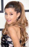 Ariana at 2014 Grammy's
