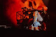 Ariana at Coachella 2018 performing No Tears Left To Cry (24)