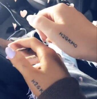 Tattoos Ariana Grande Wiki Fandom