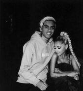 Ariana Grande with Kiyan Ghahreman