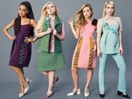 The Chanels - Scream Queens unofficial photoshoot (2)