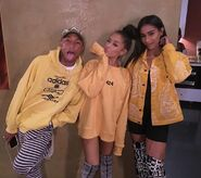 Ariana Grande with Pharrell Williams and Bia