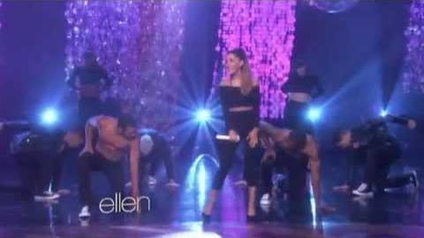 "Ariana Grande - ""Problem"" on The Ellen Show"