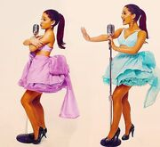 "Ariana posing for her music video ""Put your hearts up"".jpg"