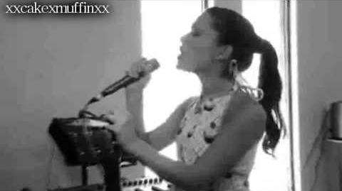 Ariana Grande Singing Listen from Beyonce.