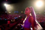 Ariana at Coachella 2018 performing No Tears Left To Cry (21)