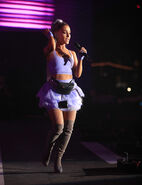 Ariana at Coachella 2018 performing No Tears Left To Cry (18)