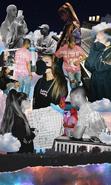 Ariana Recording Sweetener in 2018 with Pharrell