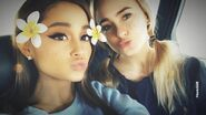 Ariana Grande and Alexa Luria November 2018