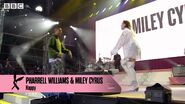 One Love Manchester Pharrell and Miley (5)