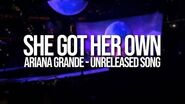 Ariana Grande - She Got Her Own (Sweetener Thank U, Next World Tour)