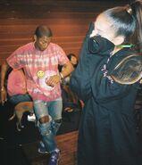 Ariana and Pharrell In The Studio