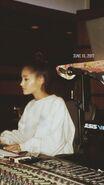 Ariana Grande June 17th 2017 at studio