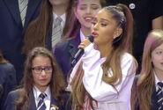Ariana with choir