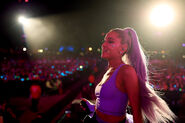 Ariana at Coachella 2018 performing No Tears Left To Cry (2)