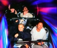 Ariana at Disneyland with friends in Anaheim, California April 8 2018 (4)