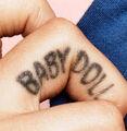 Babydoll tattoo