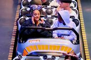 Ariana at Disneyland with friends in Anaheim, California April 8 2018 (2)