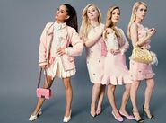 The Chanels - Scream Queens unofficial photoshoot (1)