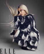 Ariana Grande photoshoot for ELLE Magazine 2018 (8)