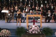 Soul Music Icon Aretha Franklin Honored During Her Funeral By Musicians And Dignitaries(3)